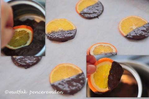 1-portakal çikolata