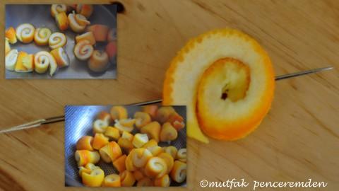1-portakal reçeli