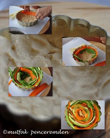 1-sebzeli tart